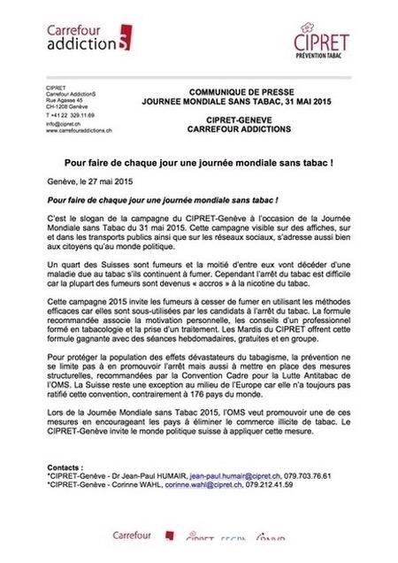 communiqué-presse-CIPRET-Journée-Mondiale-Sans-Tabac-2015