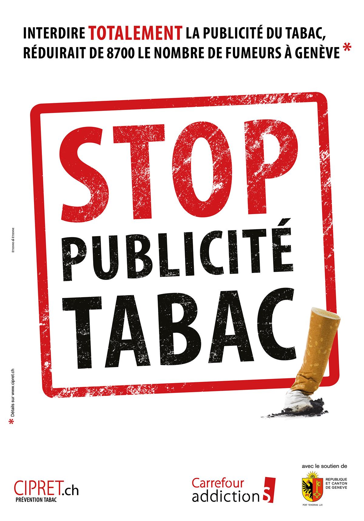 affiche interdiction pub tabac
